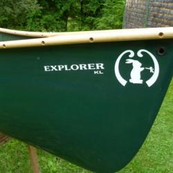 Mad River Canoe 16´ KL Explorer Kevlar FOR SALE canoes-for-sale