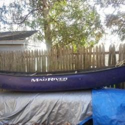 Canoe-white water- Mad River- Outrage FOR SALE canoes-for-sale