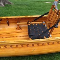 Artfully Crafted Modified English Canoe FOR SALE canoes-for-sale