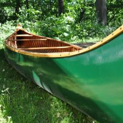 1939 Wood Canvas Canoe - 16 foot Old Town Yankee Canoe FOR SALE canoes-for-sale