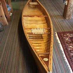 American Trader Wooden Canoe  FOR SALE canoes-for-sale